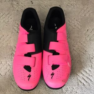 Hot Pink Specialized Spin Shoes   Poshmark